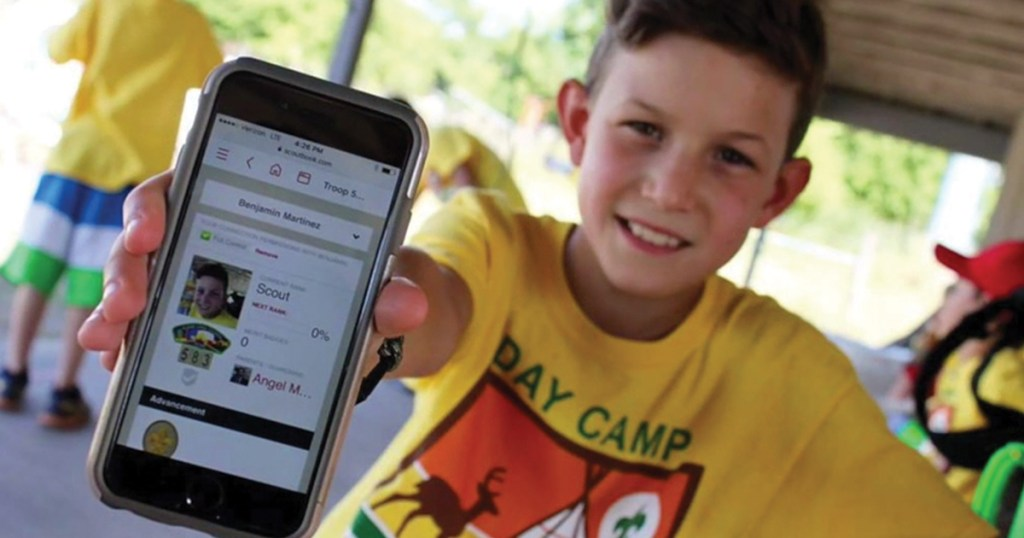 Scouts can help test a merit badge resource app
