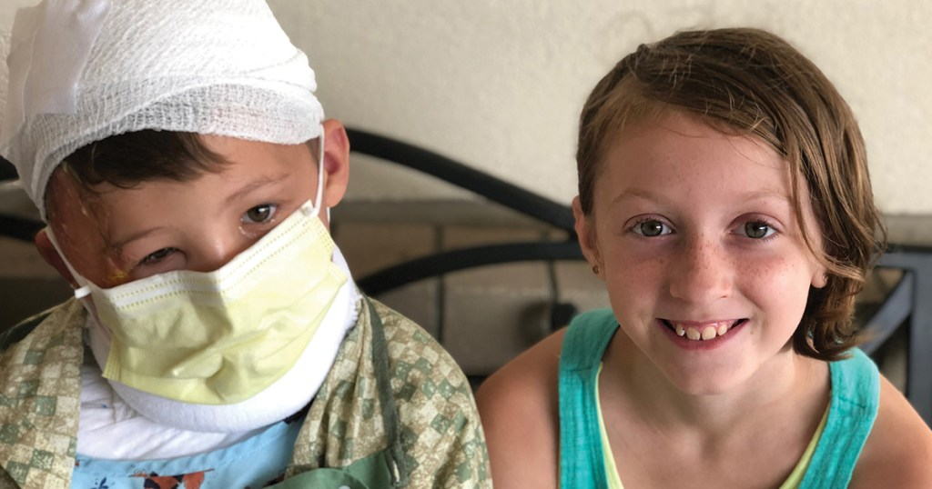 Unsung Hero: She thought quickly after her brother was burned by boiling water
