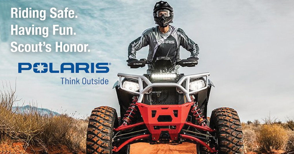 Use your head and protect it while driving ATVs
