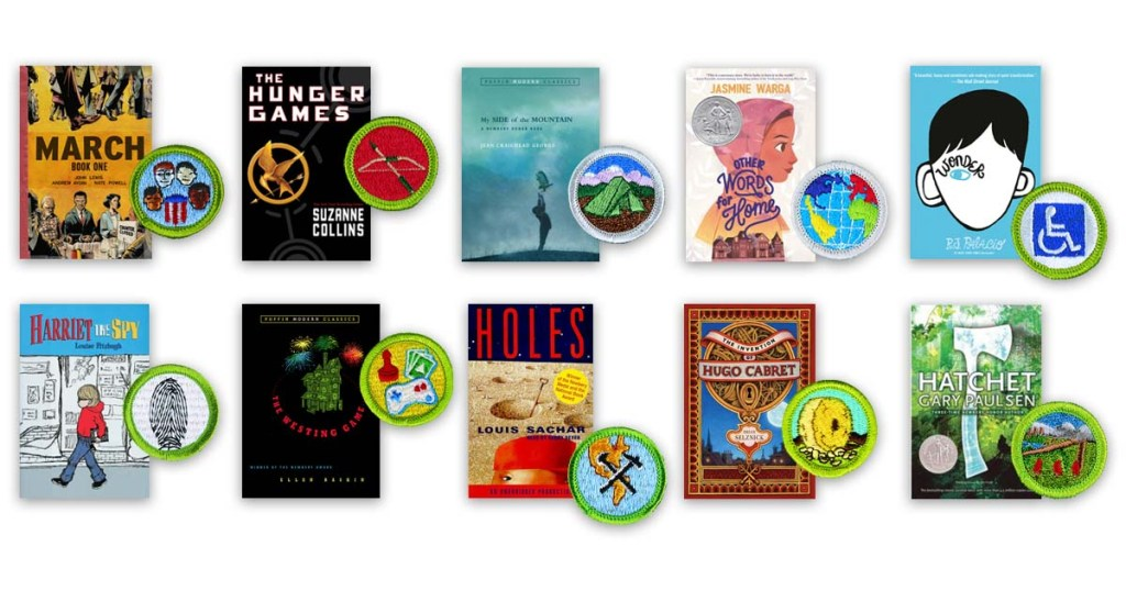 Find your Scout's favorite merit badge from this list, and we'll suggest the perfect book