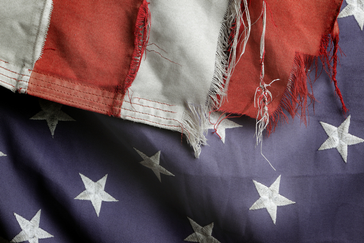 Why you should consider burying American flags as a retirement option