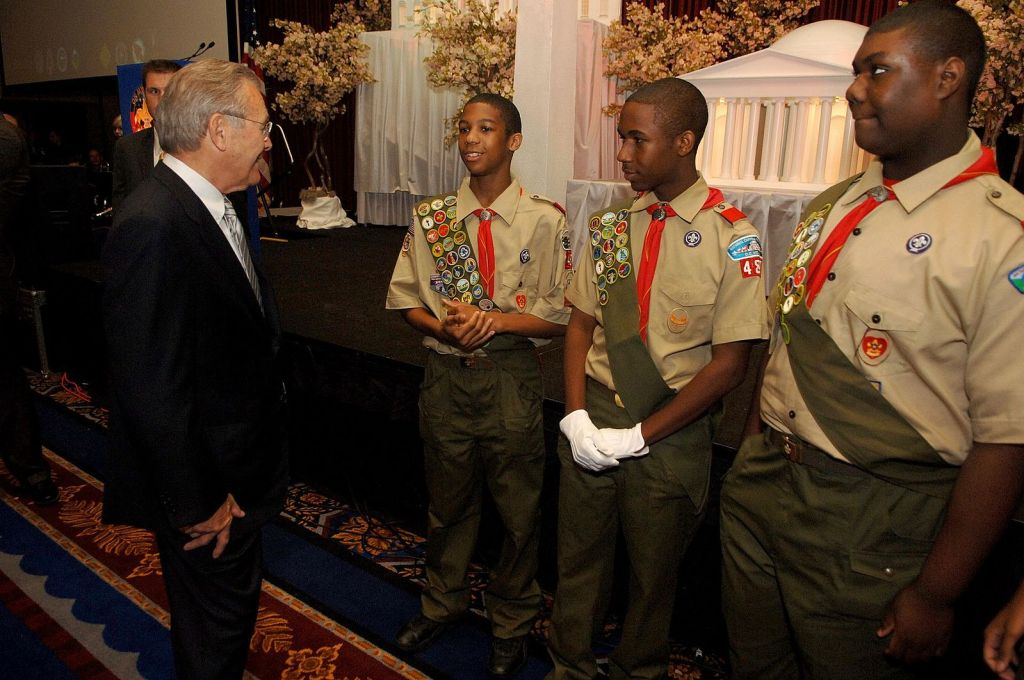 Donald Rumsfeld, Distinguished Eagle Scout and former secretary of defense, dies at 88