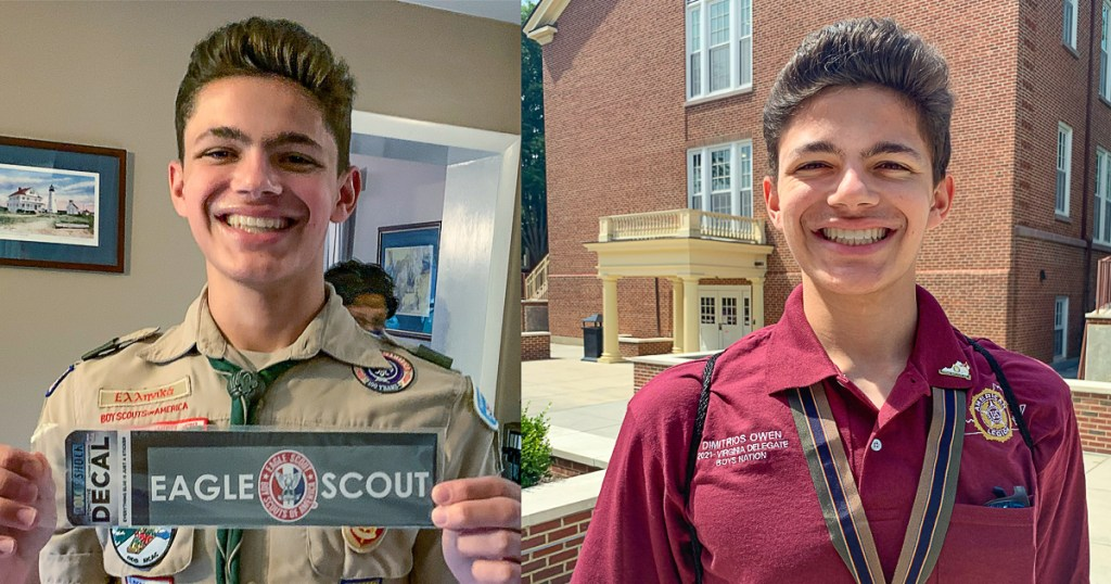 Eagle Scout to represent Virginia at American Legion's Boys Nation