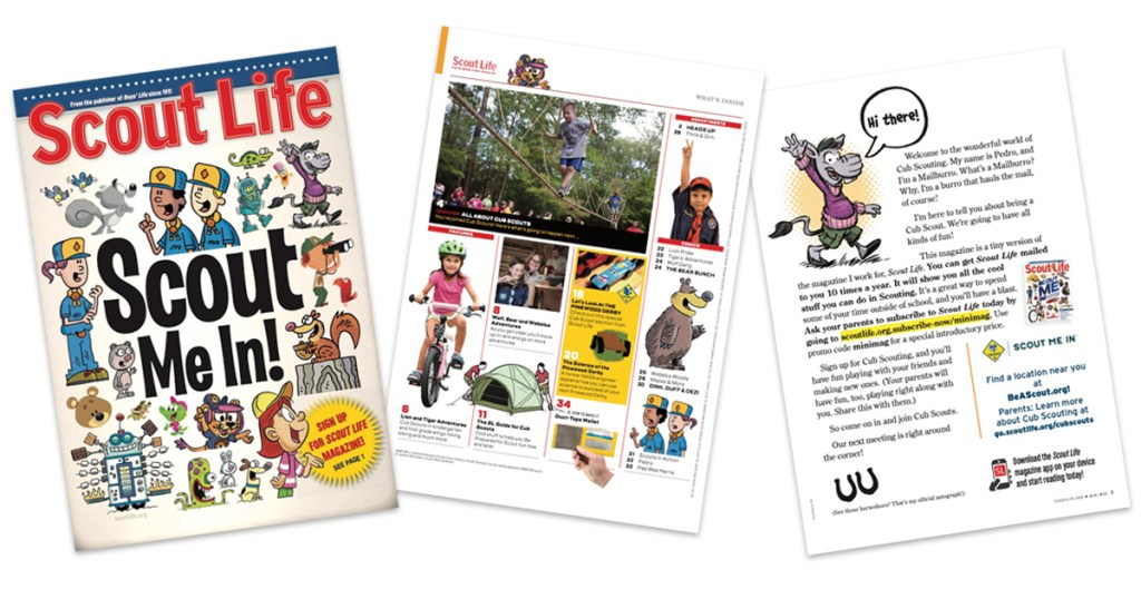 Just in time for fall recruiting, the 2021-22 Scout Life mini-mag is here!