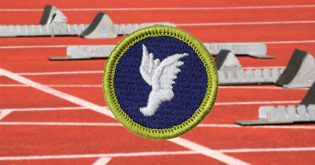 Top 5 merit badges for fans of the Olympics and future Olympians