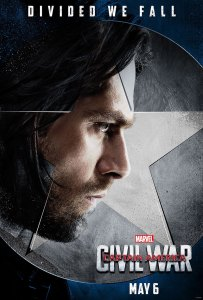 Captain America: Civil War Bucky Barnes Character Poster