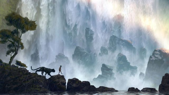 Concept artwork for Jon Favreau's The Jungle Book.