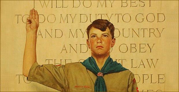 boy scouts LGBT 同性戀