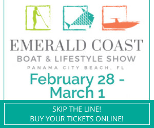 dates for the Emerald Coast Boat Show 2/28-3/1.