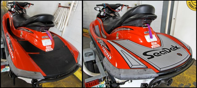 JetSki Before and After