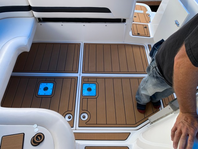 SeaDek Idaho Contemporary Marine Flooring