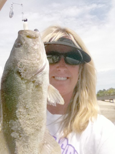 """Women love the fishing life, too!"" So says Barbara Drennen, Sea Eagle Owner and one of over 7,600,000 American female anglers"