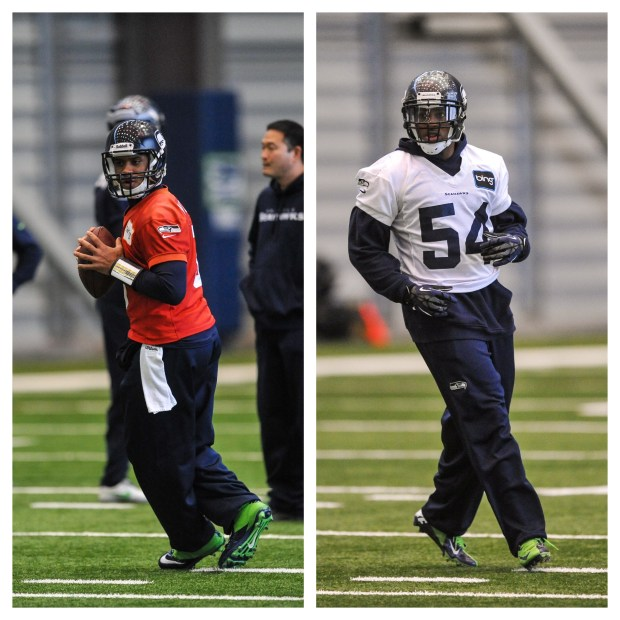 Russell Wilson, Bobby Wagner