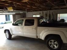 Tacoma Inside Garage