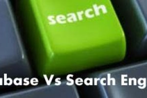 Database Vs Search Engines