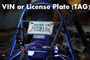 Why would No-Info be available for a VIN or License Plate (TAG) search?