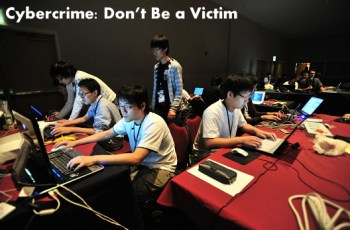 Cybercrime:  Don't Be a Victim