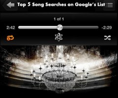Top 5 Song Searches on Google's List