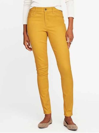 Mid-Rise Rockstar Sateen Jeans for Women