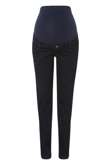 "Tall 36"" Inseam Skinny Maternity Jeans"