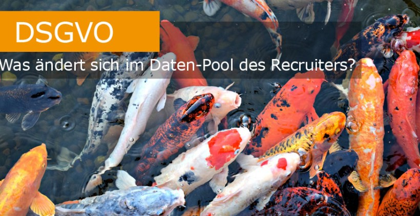 DSGVO Recruiting Datenpool