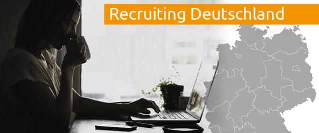 Recruiting Deutschland Unternehmen auf der Suche