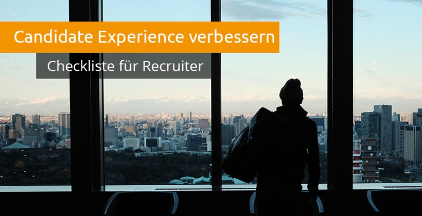 Candidate Experience Checkliste