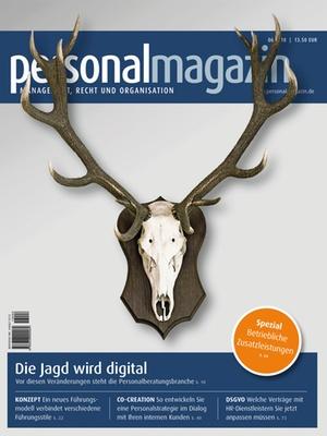 Haufe Personalmagazin Ausgabe Searchtalent