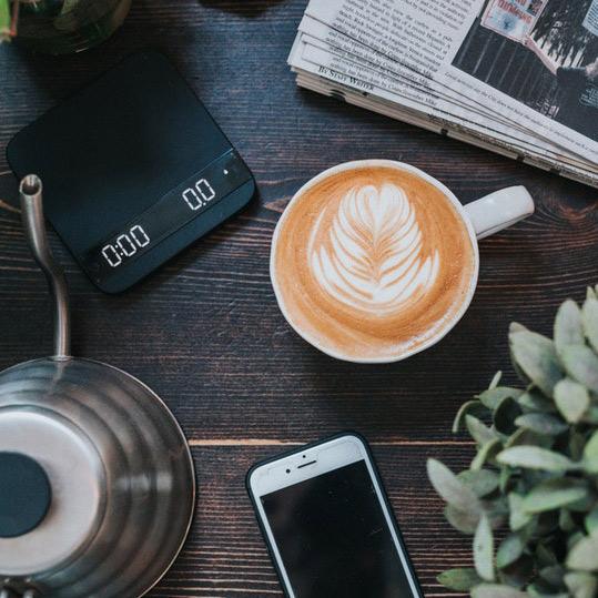 Employer Branding Social Media Kaffee