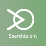 Logo Searchtalent is green