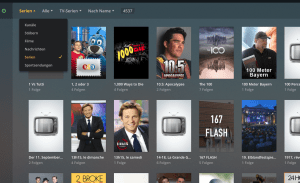 TV Serien in Plex