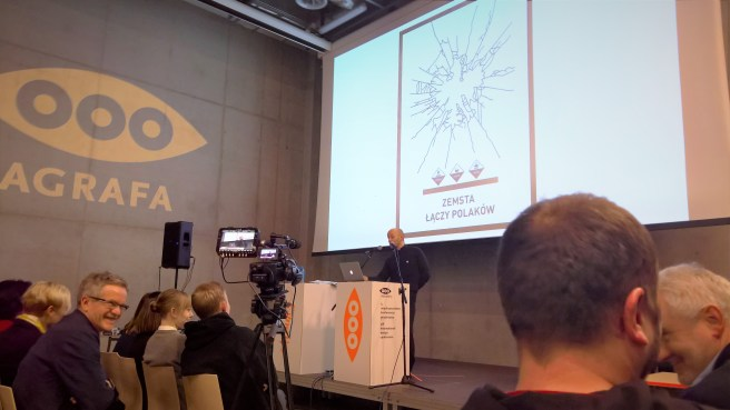 Prezentacja Marka Piekarskiego na Agrafa 2017