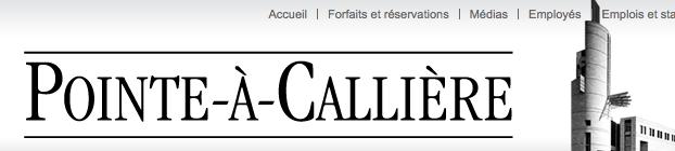 MÀJ du site internet de Pointe-à-Callière