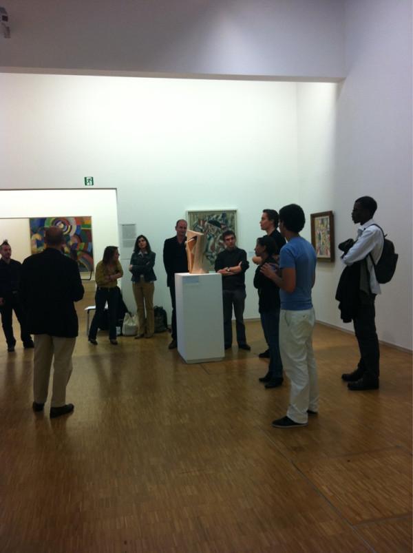 "Atelier Wikimedia au Centre Pompidou, salle 7 ""Brancusi, Léger, Laurens"""