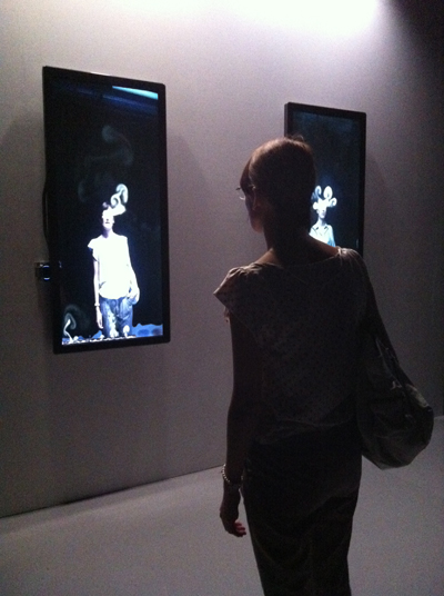 Installation de Rafael Lozano-Hemmer, La Gaîté Lyrique, 2011
