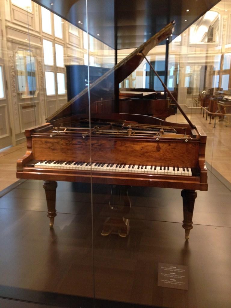 Audioguide au musée des instruments de musique, Bruxelles, mars 2016