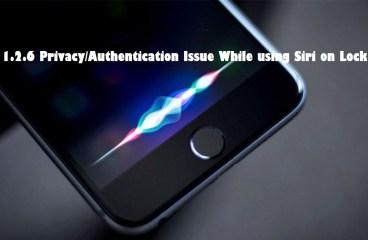 IOS 11.4 Siri Auth Bypass | CVE-2018-4238