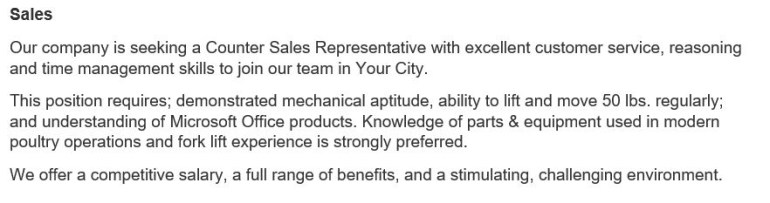 talent advisors job description