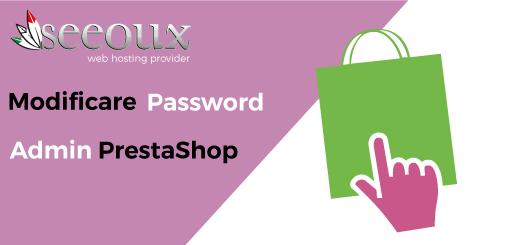 admin password prestashop