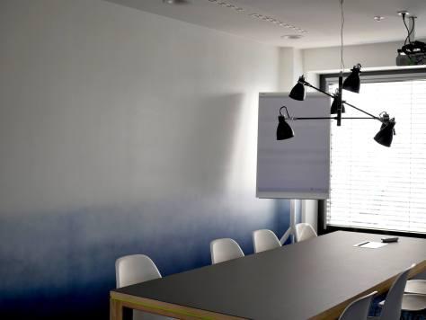 Quiet new meeting rooms