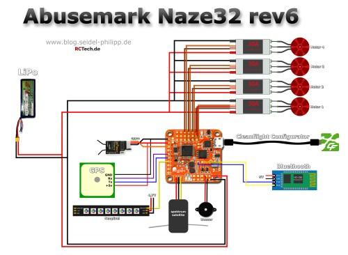 small resolution of abusemark naze32 rev6 pin layout und anschlussplan naze32 wiring diagram for dsm2 naze32 wiring spektrum satellite