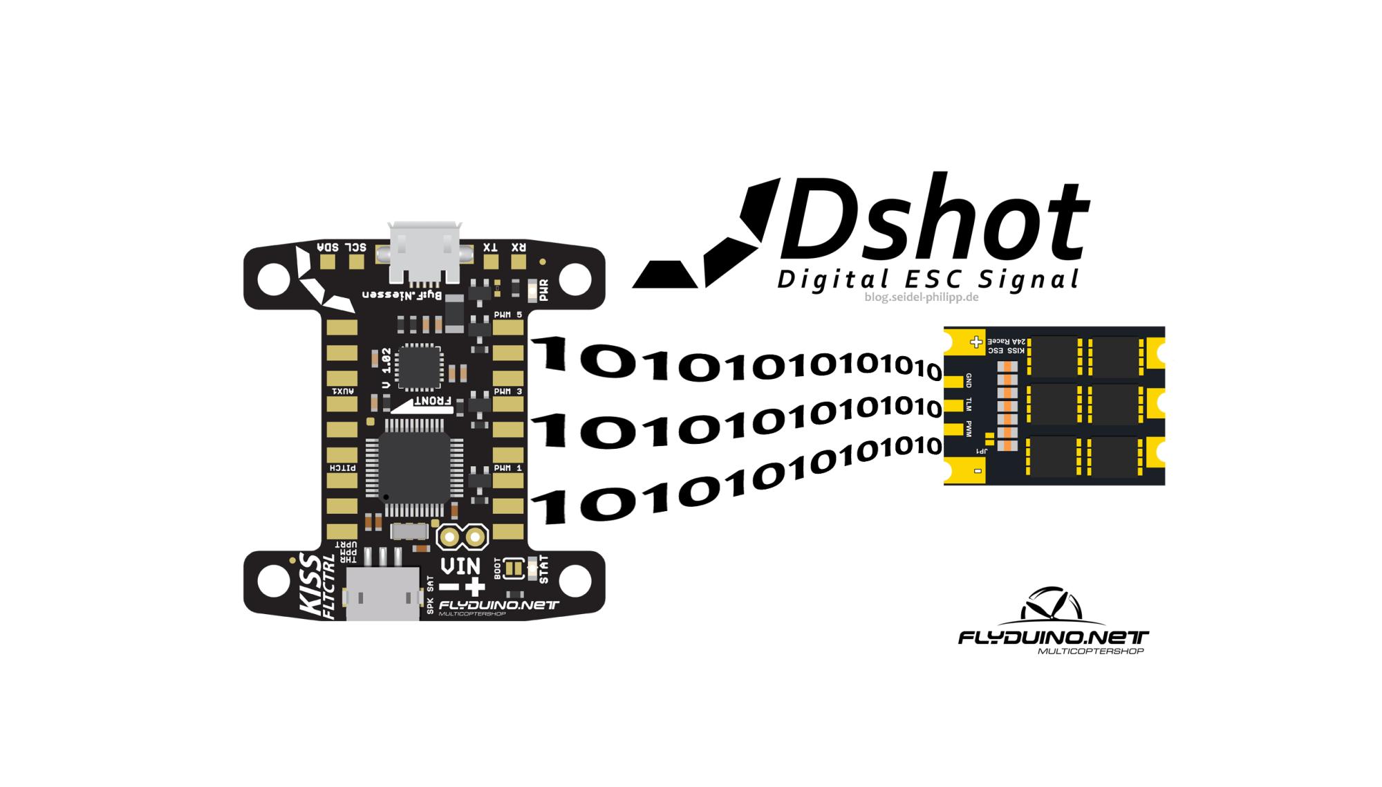 hight resolution of dshot 600 300 150 for flyduino kiss fc esc