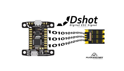 small resolution of dshot 600 300 150 for flyduino kiss fc esc