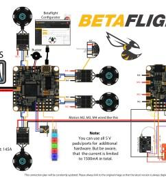 betaflightf4 connection plan by phillip seidel [ 4700 x 3000 Pixel ]