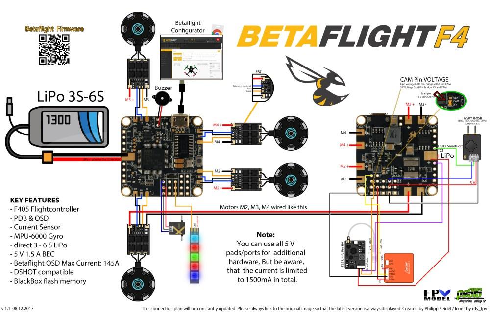 medium resolution of betaflightf4 connection plan by phillip seidel