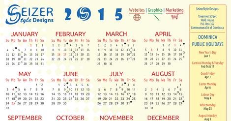 2015 Calendar - Triple Threat