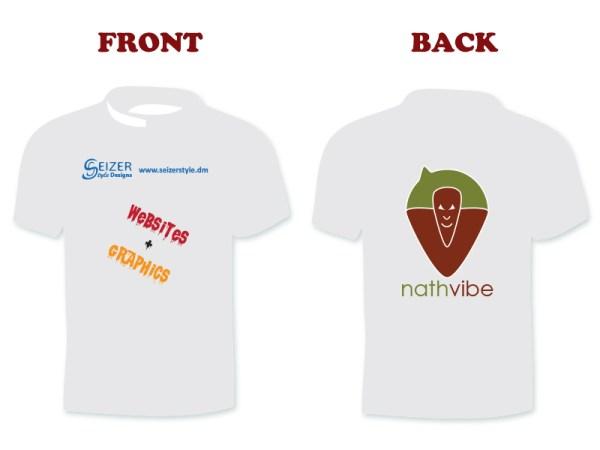 SeizerStyle Designs nathvibe 2013 T-Shirt (white)
