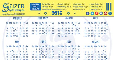 Calendar 2015 - In My Circle