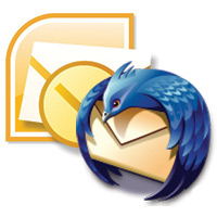 Outlook & Thunderbird logos