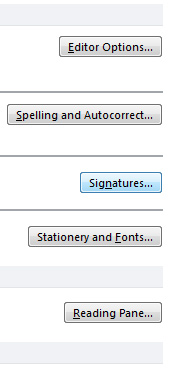 Email Signature in Outlook 3